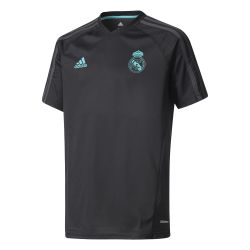 Maillot entraînement junior Real Madrid noir 2017/18