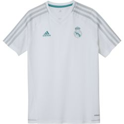 Maillot entraînement junior Real Madrid blanc 2017/18