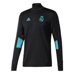 Sweat entraînement Real Madrid noir vert 2017/18