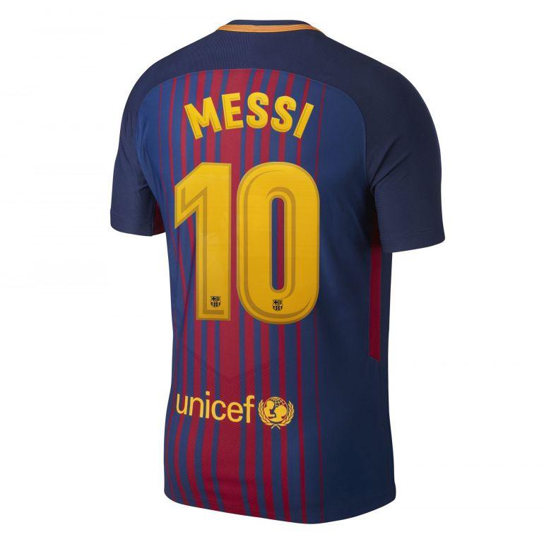 Maillot Messi FC Barcelone domicile 2017/18