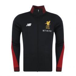 Veste survêtemet Liverpool noir 2017/18