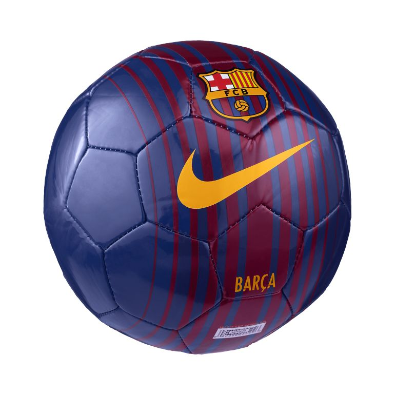 mini ballon fc barcelone bleu 2017 18 sur. Black Bedroom Furniture Sets. Home Design Ideas