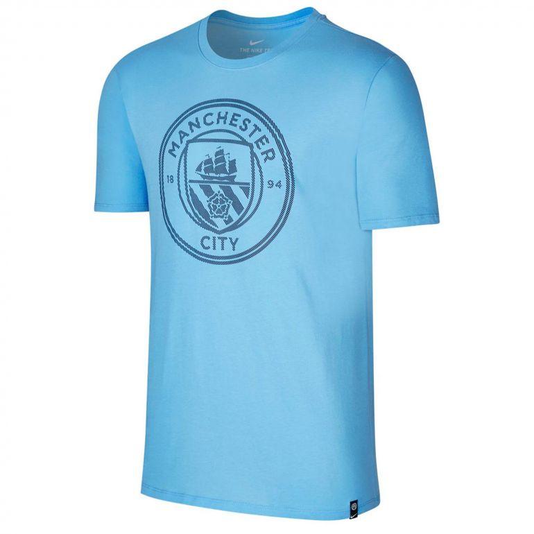 T-shirt Manchester City bleu 2017/18