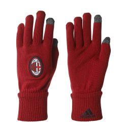 Gants joueurs Milan AC rouge 2017/18
