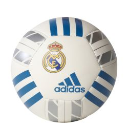 Mini ballon Real Madrid blanc 2017/18