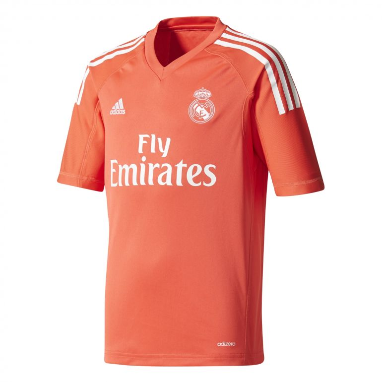 Maillot gardien junior Real Madrid extérieur 2017/18