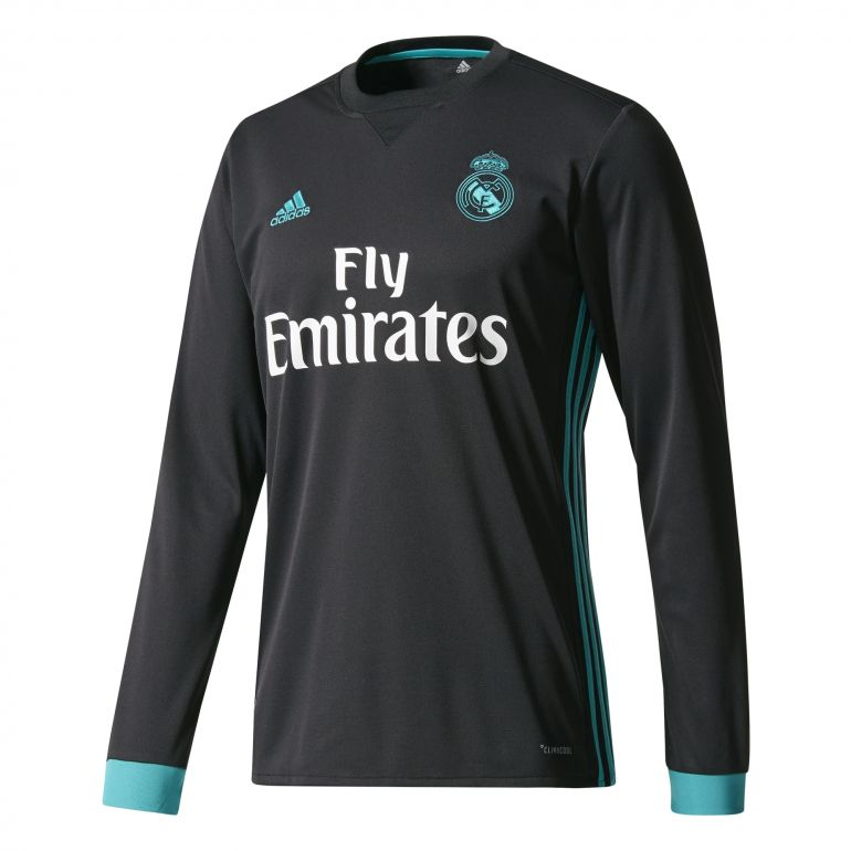Maillot Real Madrid extérieur manches longues 2017/18