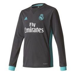 Maillot junior Real Madrid extérieur manches longues 2017/18