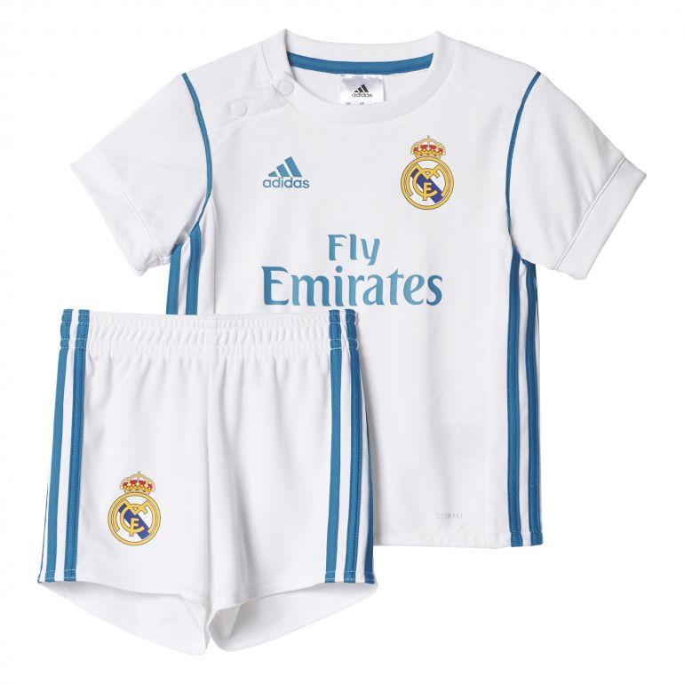 Tenue bébé Real Madrid domicile 2017/18