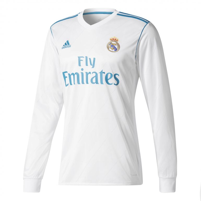 Maillot Real Madrid domicile manches longues 2017/18
