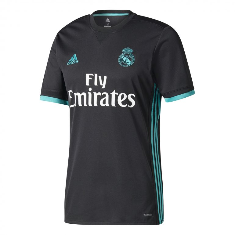 maillot real madrid ext rieur 2017 18 sur