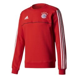 Sweat entraînement Bayern Munich rouge blanc 2017/18
