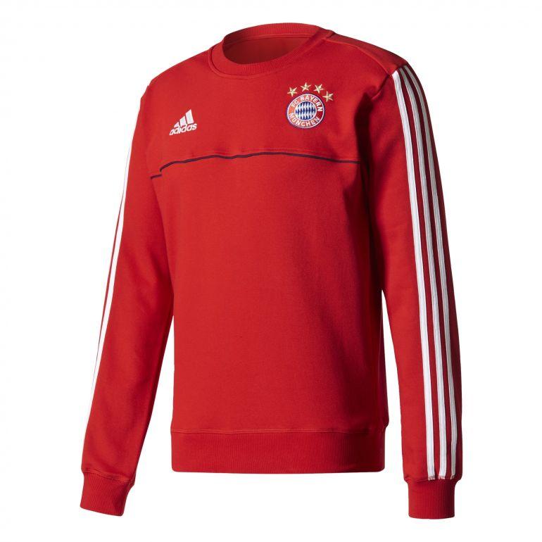 Sweat entraînement Bayern Munich rouge blanc 2017/18