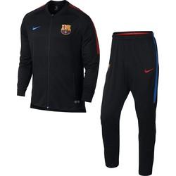 Ensemble survêtement FC Barcelone noir microfibre 2017/18