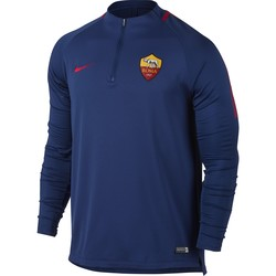 Sweat zippé AS Roma bleu 2017/18