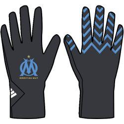 Gants OM noir et bleu