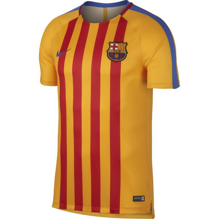 Maillot entraînement FC Barcelone orange 2017/18