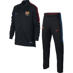 Ensemble survêtement junior FC Barcelone noir 2017/18