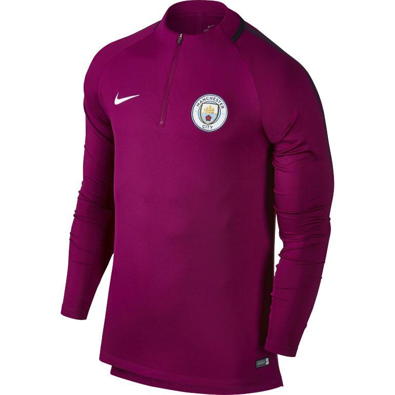 Sweat zippé Manchester City mauve 2017/18