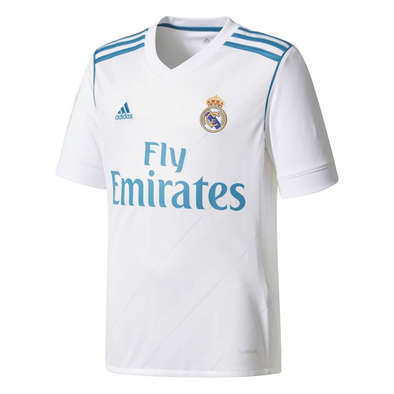 Maillot junior Real Madrid domicile LFP 2017/18