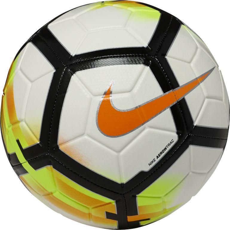 Ballon Nike Aerowtrac blanc jaune 2017