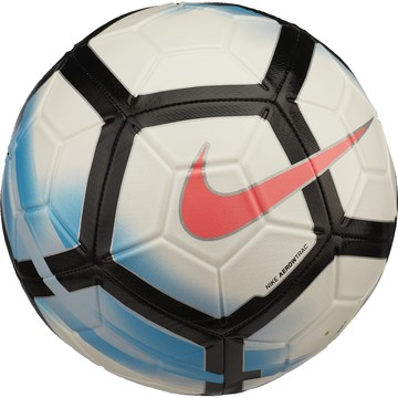 Ballon Nike Aerowtrac blanc bleu 2017