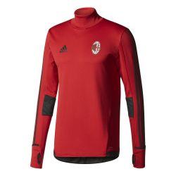Sweat entraînement Milan AC rouge 2017/18