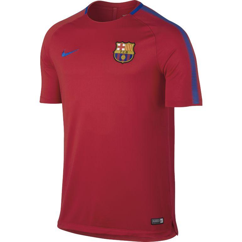Maillot entraînement FC Barcelone rouge 2017/18