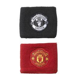 Serre-poignet Manchester United rouge noir 2017/18