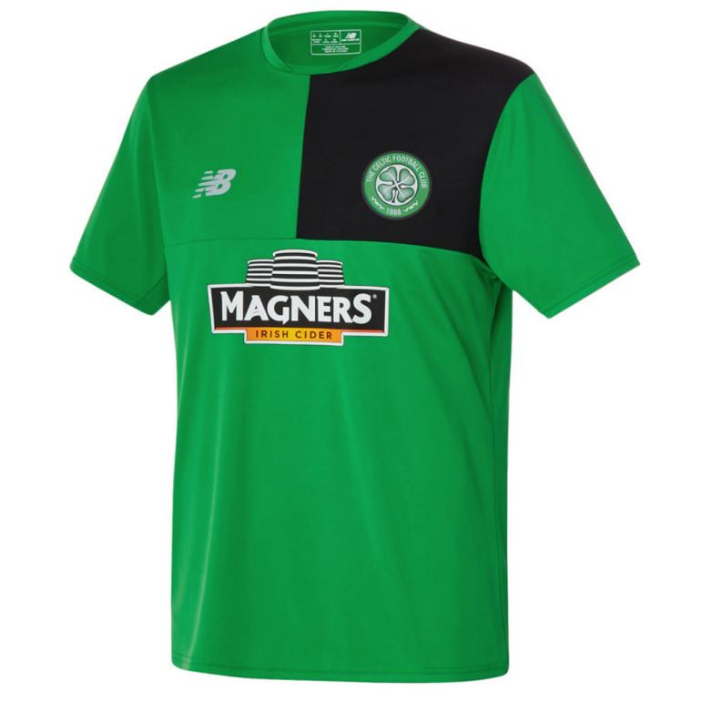 Maillot entraînement Celtic Glasgow vert 2016 - 2017