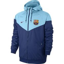 Coupe vent FC Barcelone bleu ciel 2017/18