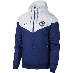 Coupe vent Chelsea bleu blanc 2017/18