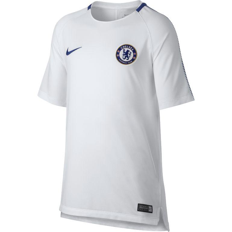 Maillot entraînement junior Chelsea blanc 2017/18