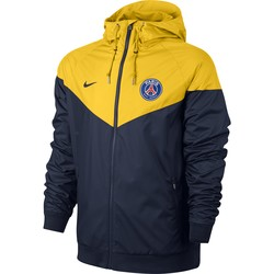 Coupe vent PSG bleu jaune 2017/18