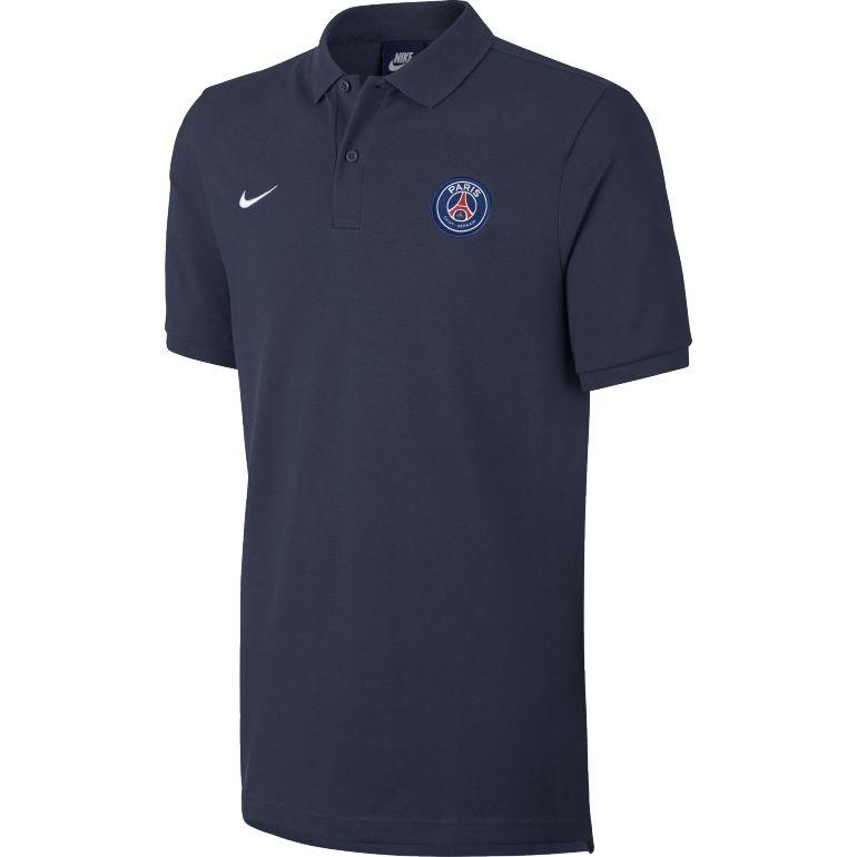 Polo PSG bleu foncé 2017/18