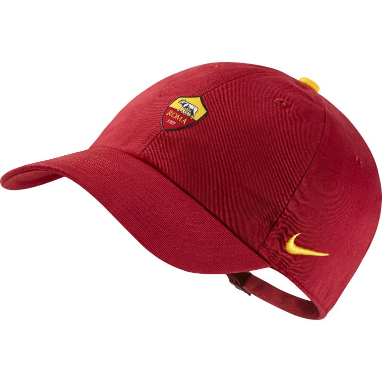 Casquette AS Roma Héritage86 rouge 2017/18