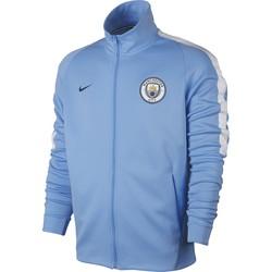 Veste survêtement Manchester City bleu ciel 2017/18