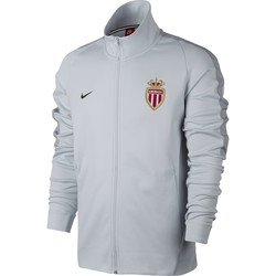 Veste survêtement AS Monaco gris 2017/18