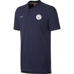 Polo Manchester City authentique bleu foncé 2017/18