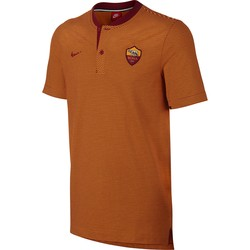 Polo AS Roma authentique orange 2017/18