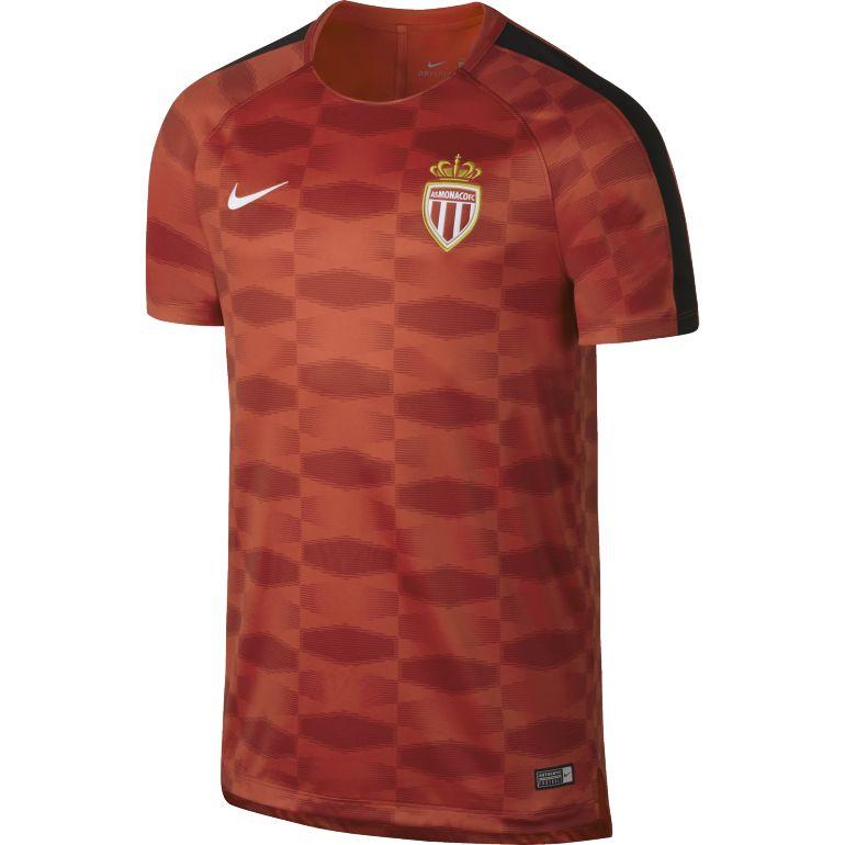Maillot entraînement AS Monaco rouge orange 2017/18