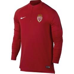 Sweat zippé AS Monaco rouge 2017/18