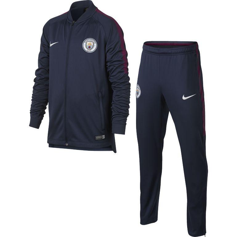 Ensemble survêtement junior Manchester City bleu 2017/18