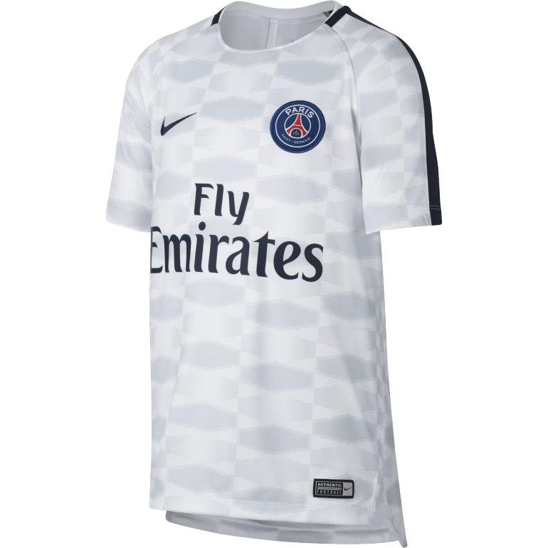 Maillot entraînement junior PSG blanc 2017/18