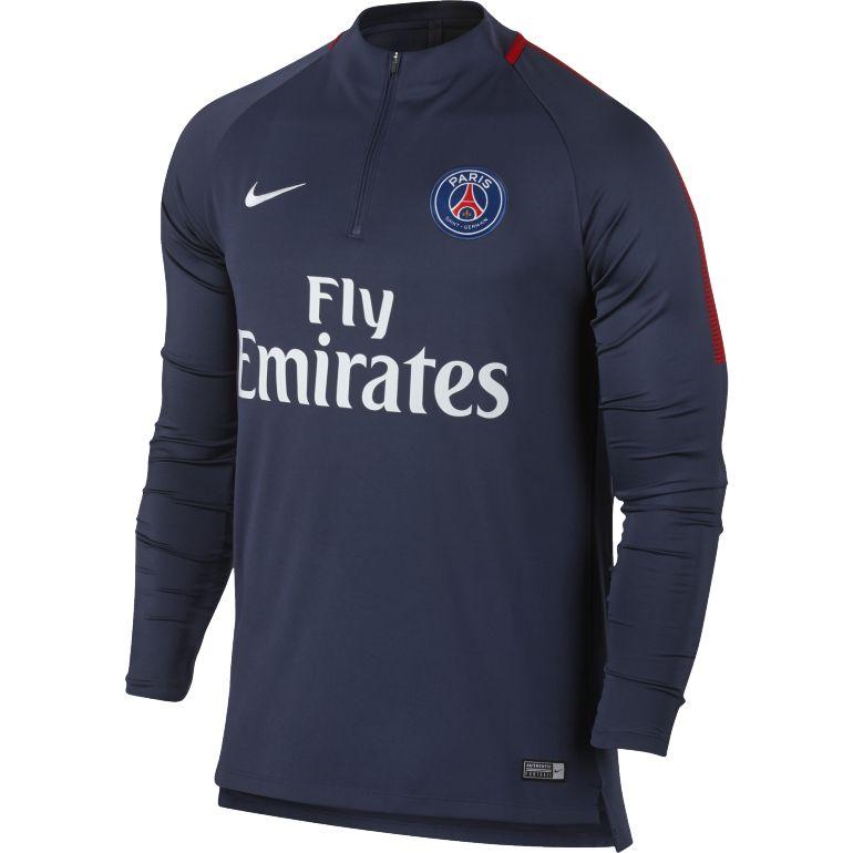 Sweat zippé PSG bleu 2017/18
