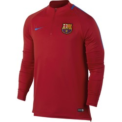 Sweat zippé FC Barcelone rouge 2017/18
