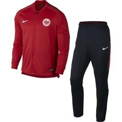 Ensemble survêtement Eintracht Francfort rouge 2017/18