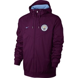 Coupe vent Manchester City mauve 2017/18