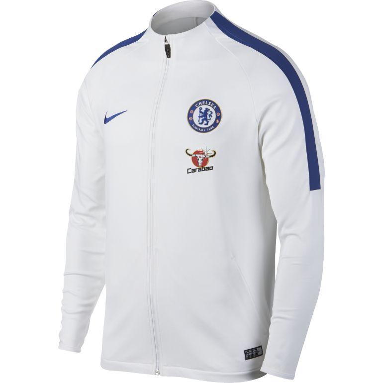 Veste survêtement Chelsea blanc 2017/18