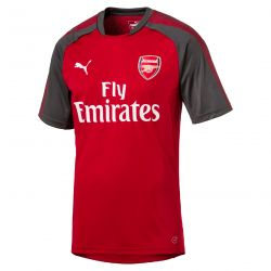 Maillot entraînement junior Arsenal rouge 2017/18
